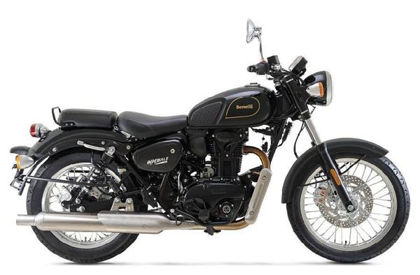 Benelli Imperiale 400 สีดำ