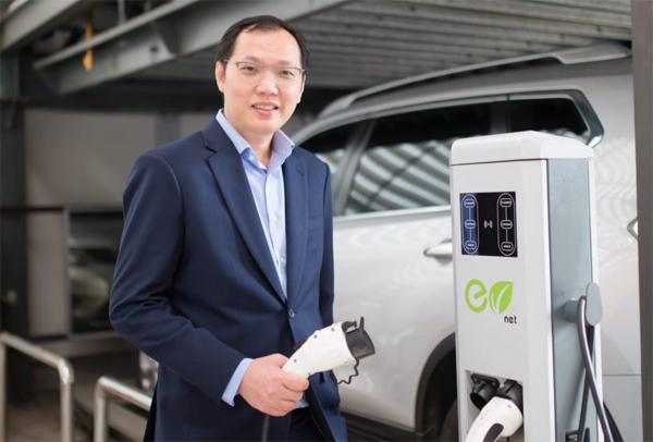 เครื่องชาร์จรถยนต์ไฟฟ้า EV net