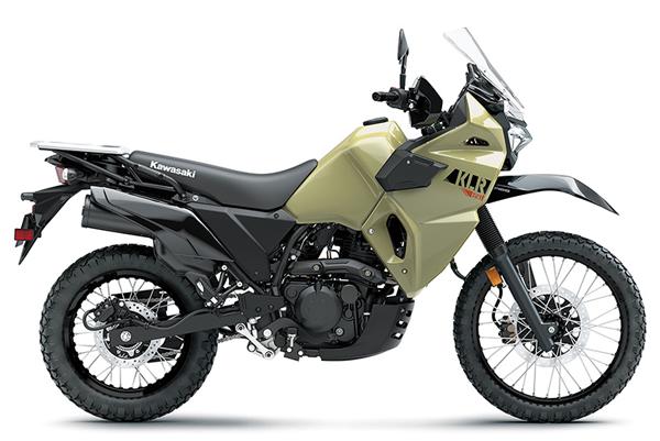 KLR650 2022 สีกากี