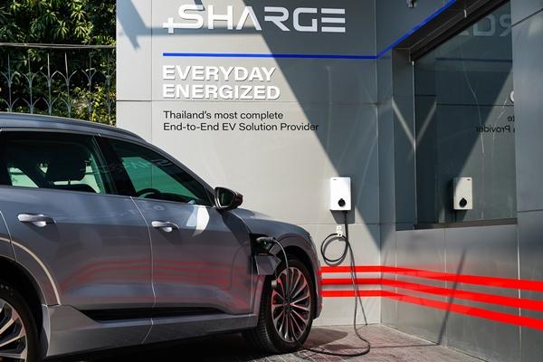 'SHARGE', ชาร์จรถ EV, สถานีชาร์จรถยนต์ไฟฟ้า