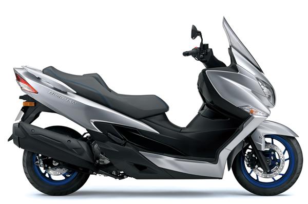 Suzuki Burgman 400 2021-2022 สีเงิน