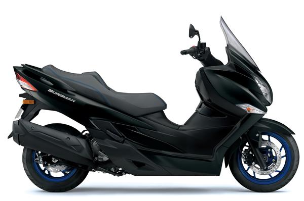 Suzuki Burgman 400 2021-2022 สีดำด้าน