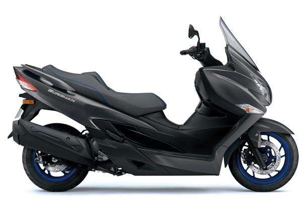 Suzuki Burgman 400 2021-2022 สีเทา