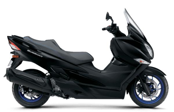 Suzuki Burgman 400 2020-2021 สีดำ