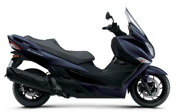 Suzuki Burgman 400 2020-2021 สีน้ำเงินด้าน