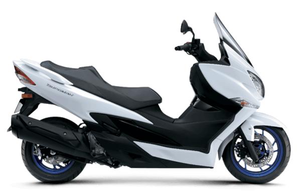 Suzuki Burgman 400 2020-2021 สีขาว