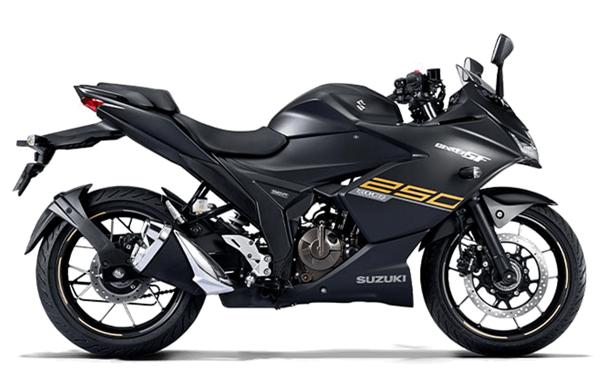 Suzuki Gixxer SF 2021 สีดำ