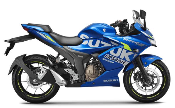 Suzuki Gixxer SF 2021 สีน้ำเงิน
