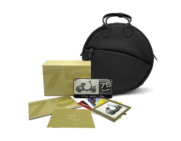 Vespa 75th Anniversary Welcome Kit