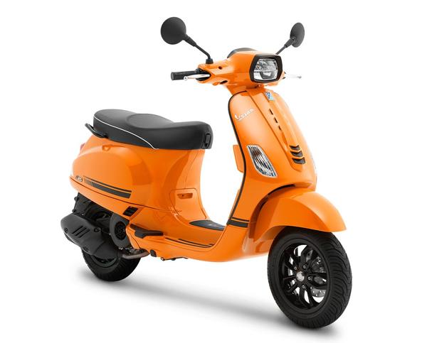 Vespa S 125 2021 สีส้ม