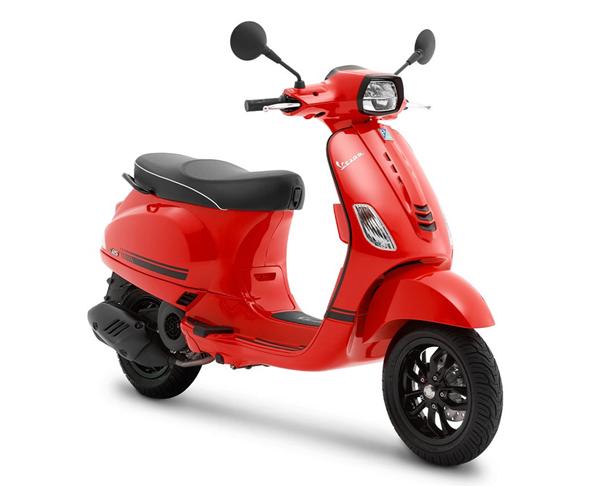 Vespa S 125 2021 สีแดง
