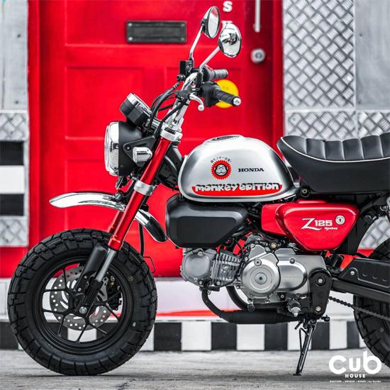 Honda Monkey Johney Red Edition