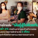 """กสิกรไทย ส่ง """"เงินกู้สู้ไปด้วยกัน"""" ดอกต่ำ 3%"""