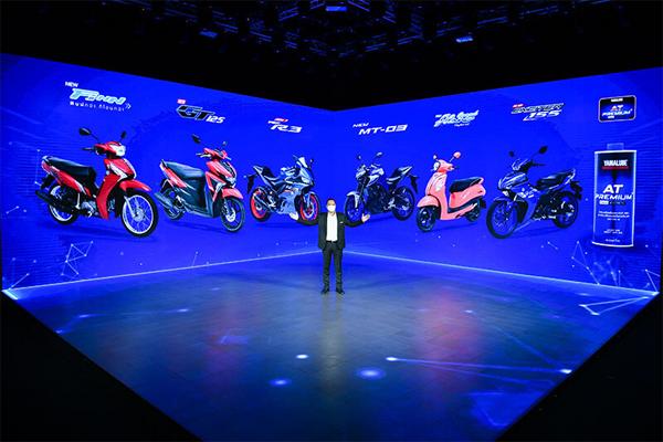 Yamaha เปิดตัว 6 โมเดลใหม่