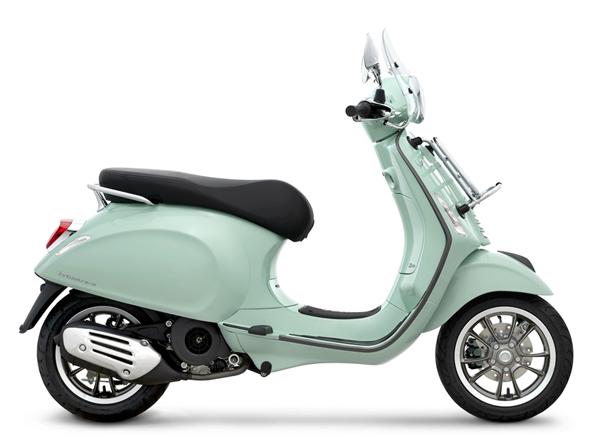 Vespa Primavera S 150 Touring สีเขียว