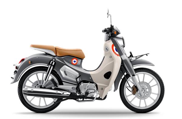 GPX POPZ 110 สีเทา-ขาว
