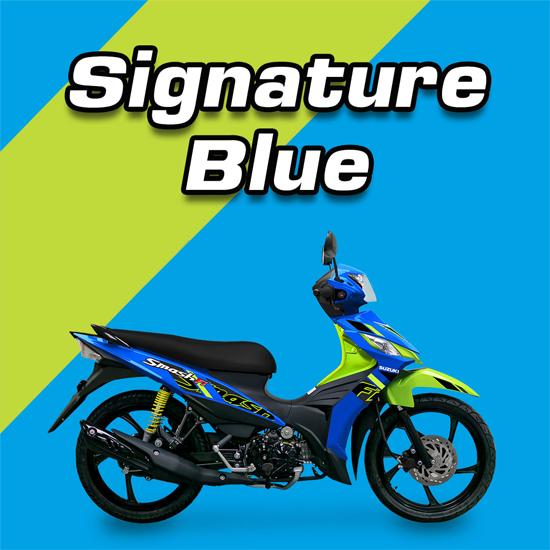 Suzuki Smash Fi 2021 สีน้ำเงิน