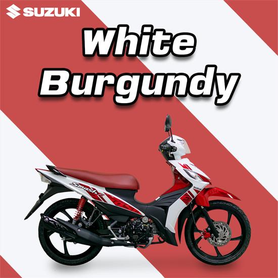 Suzuki Smash Fi สีขาว-แดง