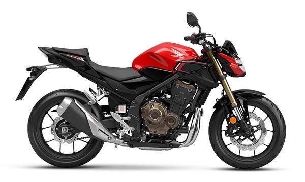 CBR500F 2022 สีแดง