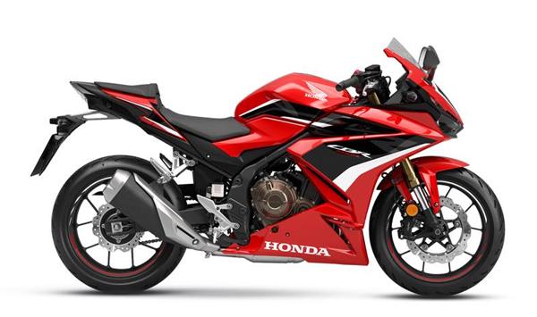 CBR500R 2022 สีแดง