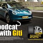 จีที ไทร์ , ยางติดรถยนต์ไฟฟ้า, Ora Goodcat,Great Wall Motor, รถยนต์ไฟฟ้า, Ora, Goodcat, รถยนต์ไฟฟ้า, Ora Good cat, Good cat,