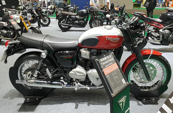 Triumph T100 Bud Ekins